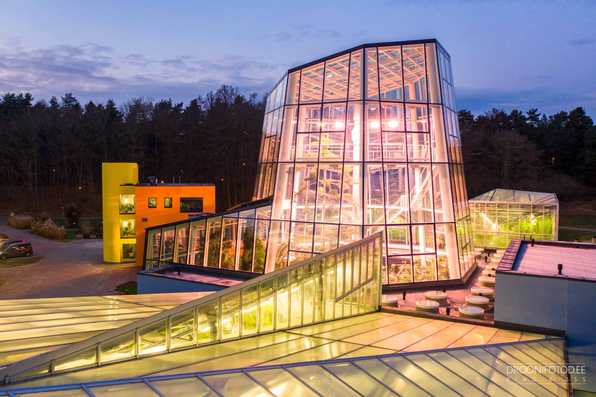 Tallinna Botaanikaaed - Palmimaja